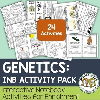 Science Interactive Notebook - Genetics & Heredity