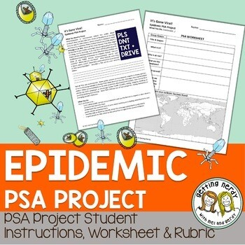 Virus & Bacteria Epidemic Public Service Announcement Project - PSA