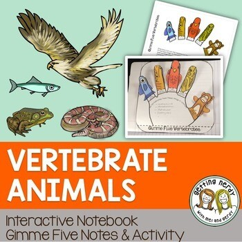 Science Interactive Notebook - Vertebrate Animals