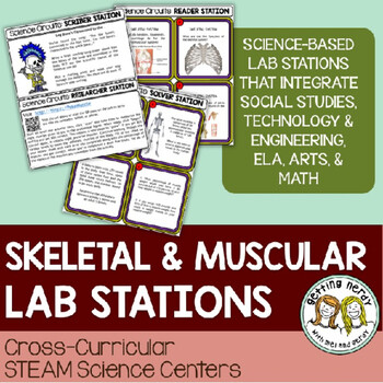 Skeletal & Muscular System - Science Centers / Lab Stations
