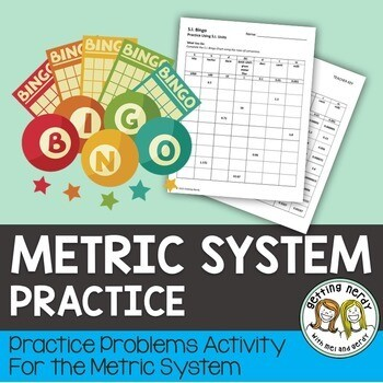 Metric System Conversion Practice - Scientific Method