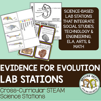 Evidence for Evolution - Science Centers / Lab Stations