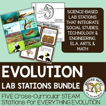 Evolution Bundle - STEAM Science Centers / Lab Stations