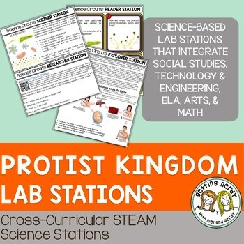 Protist Classification - Science Centers / Lab Stations