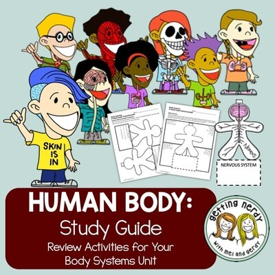 Human Body Systems Review - Distance Learning + Digital Lesson
