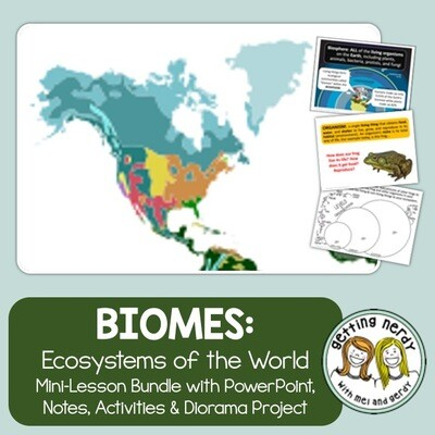 Ecosystems and Biomes of the World - Distance Learning + Digital Lessons