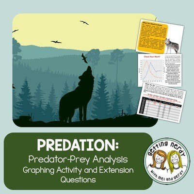 Predator Prey Relationship Analysis - Distance Learning + Digital Lesson