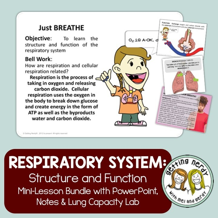 Respiratory System - Human Body Distance Learning + Digital Lesson