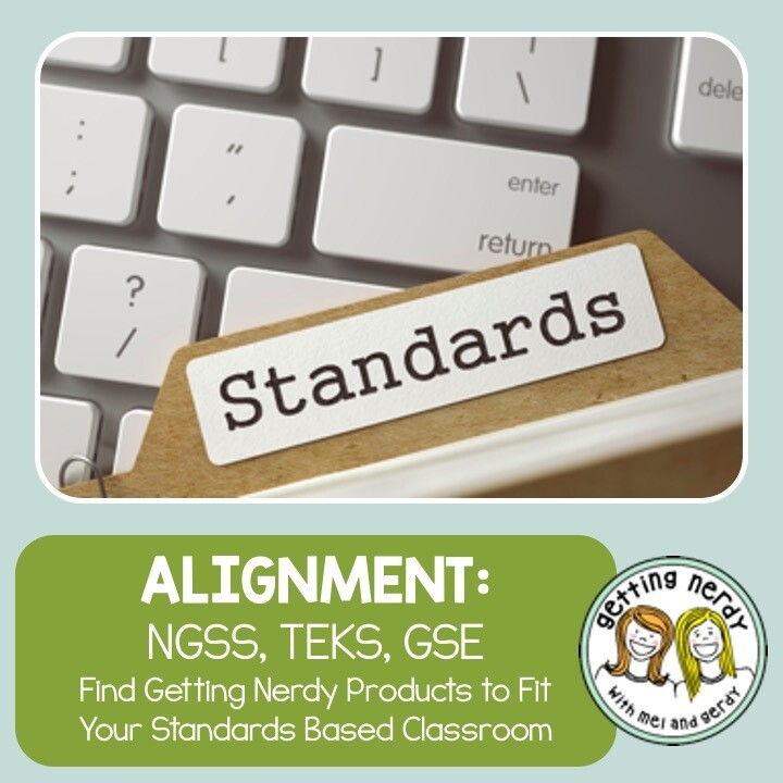 NGSS, TEKS and GSE Standards Middle School Alignment Matrix