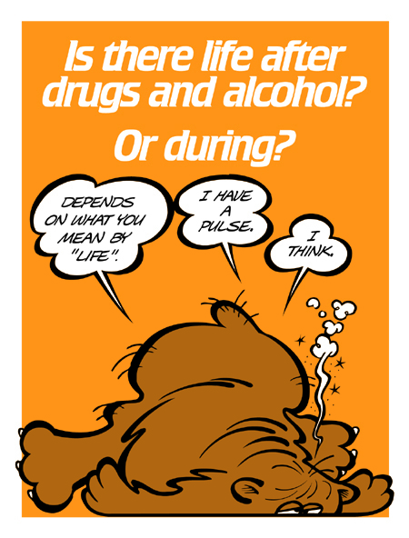 Is there life after drugs and alcohol?