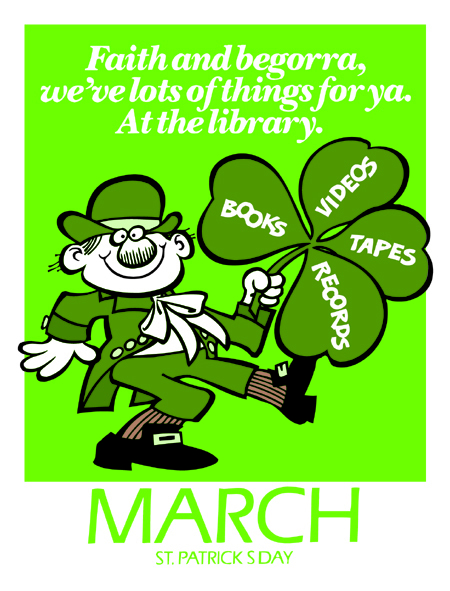 March-St Patrick's Day