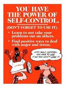 Learn To Use Self-Control