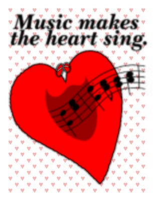 Music Makes the Heart Sing