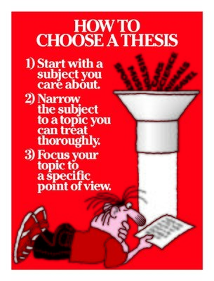 How to Choose a Thesis