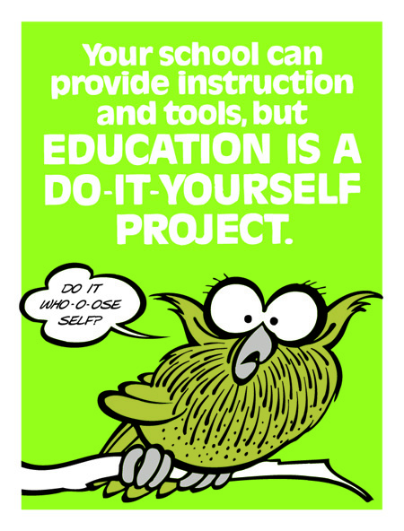 Education is a Do-It-Yourself Project