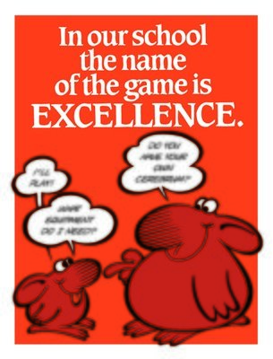 The Name of the Game is Excellence