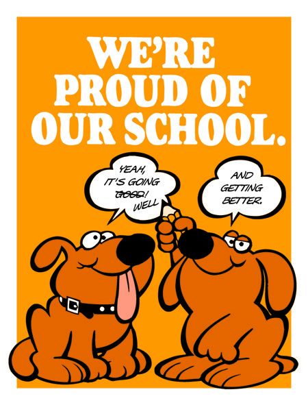 We're Proud of Our School