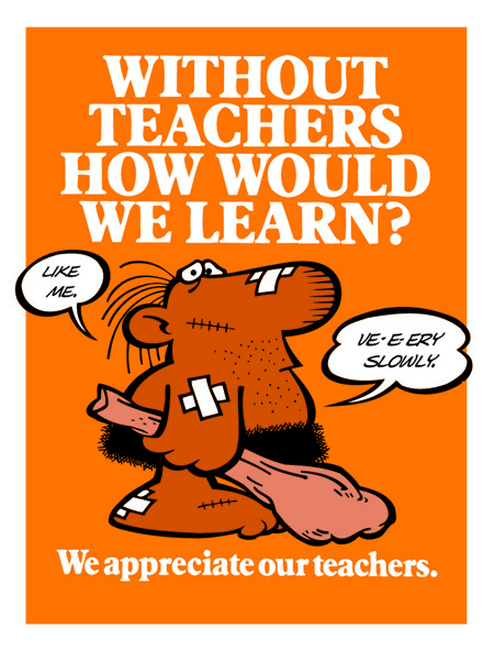We Appreciate Our Teachers