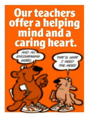Our Teachers Offer Caring Heart