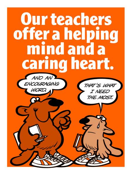 Our Teachers Offer Caring Heart