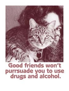 Good friends won't purrsuade..