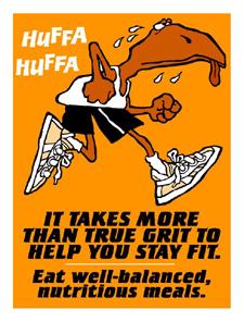 Eat well-balanced meals