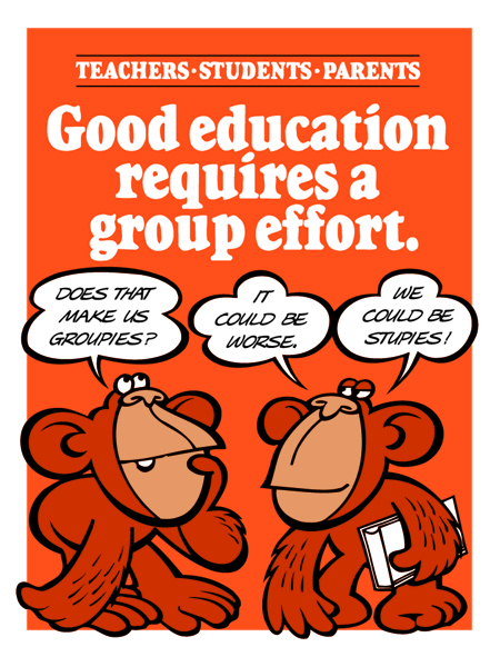 Good education requires a group effort