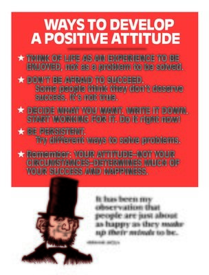 Ways to Develop a Positive Attitude