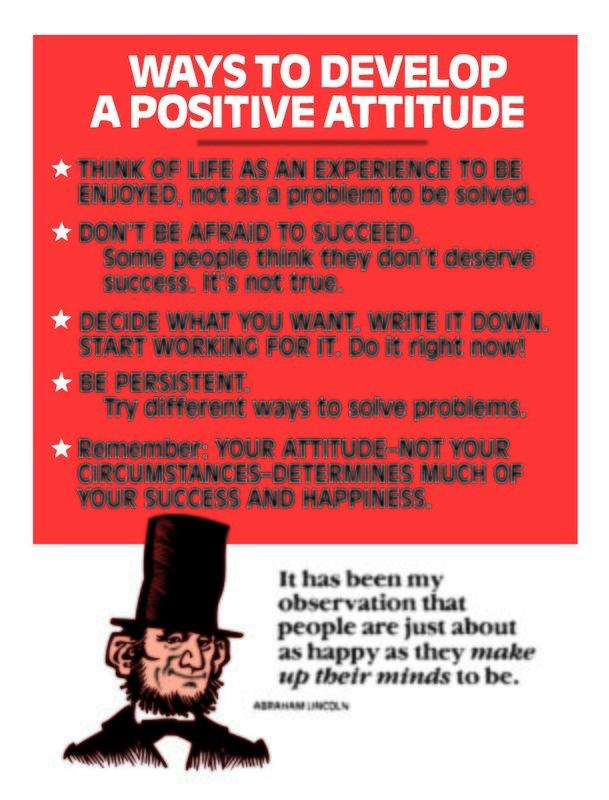 Ways to Develop a Positive Attitude