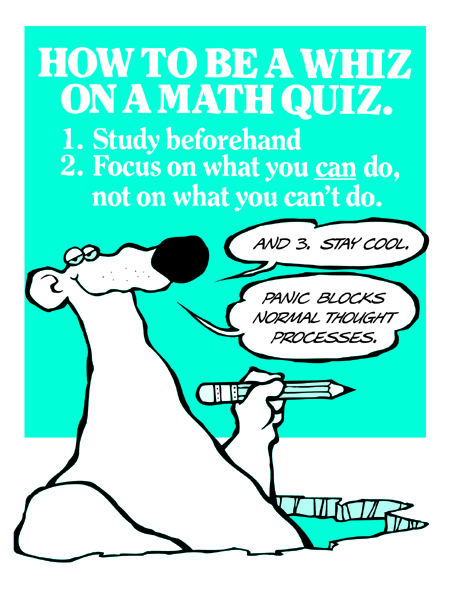 How To Be A Whiz On A Math Quiz