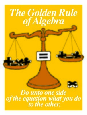 The Golden Rule of Algebra