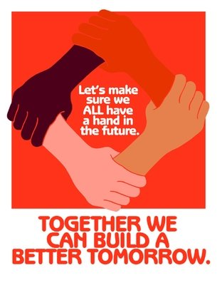 TOGETHER we can build a better tomorrow