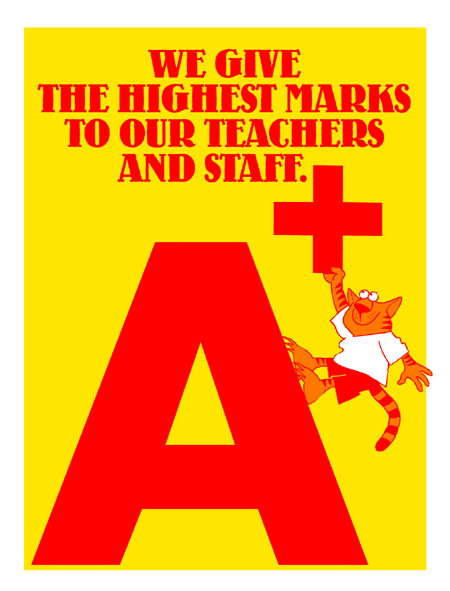 We Give Highest Marks to Our Teachers & Staff