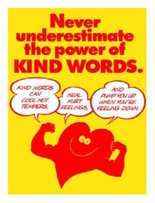 The Power of Kind Words