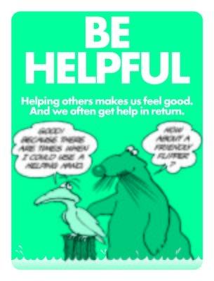 Be Helpful
