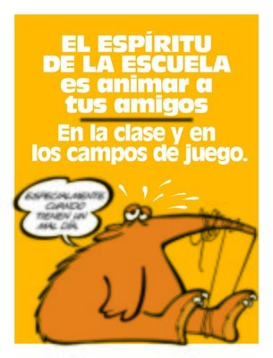 School Spirit Is Encouraging Your Friends (Spanish)