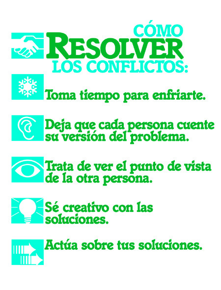 How to Resolve Conflicts-Spanish