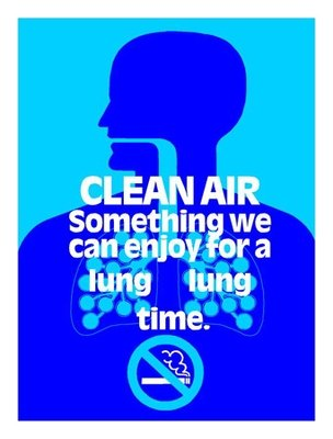 Clean Air. No Smoking.