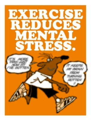 Exercise Reduces Mental Stress