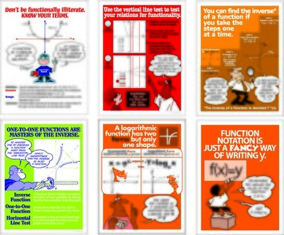 Relate To The Functions Poster Set (6)