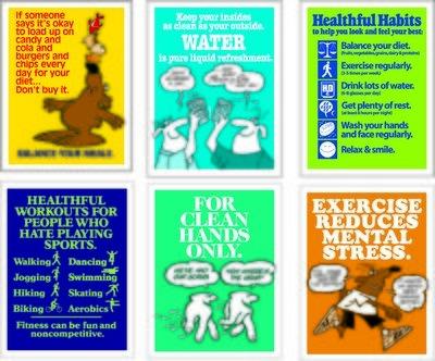 Healthful Habits Poster Series (6)