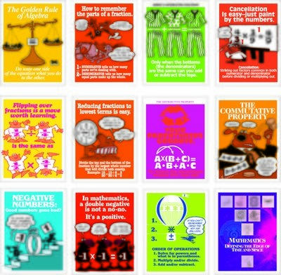 Math Minders Poster Set (12)