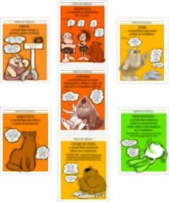 Parts of Speech Poster Set (7)