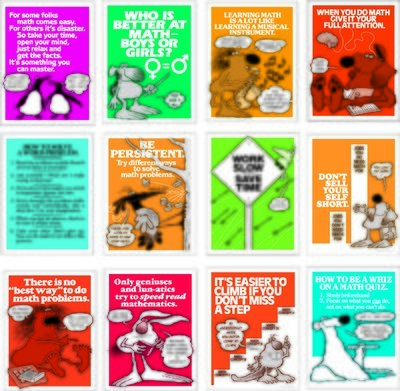 I Can Do Math Poster Set (12)