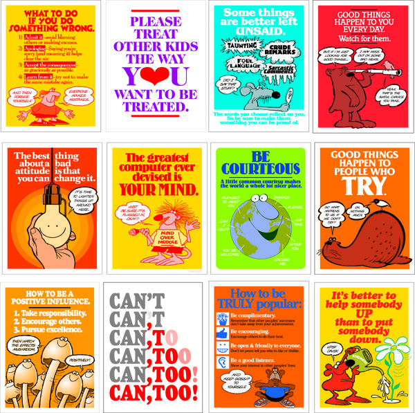 Be Your Best Poster Set (12)