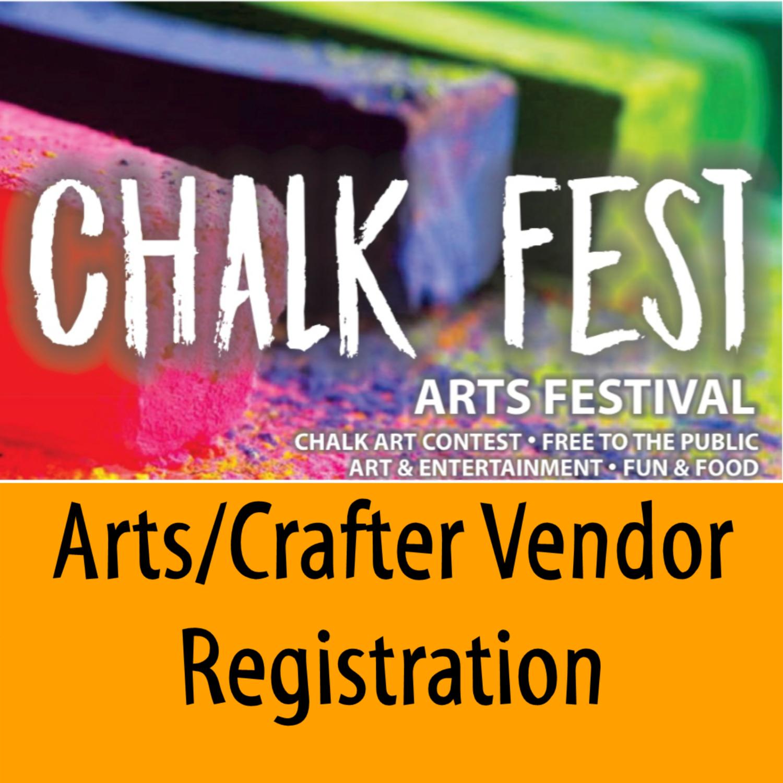 Chalk Fest Arts/Crafter Vendor Registration