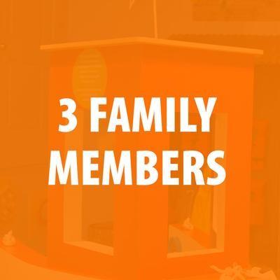 Membership - 3 Family Members