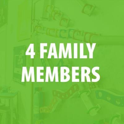 Membership - 4 Family Members