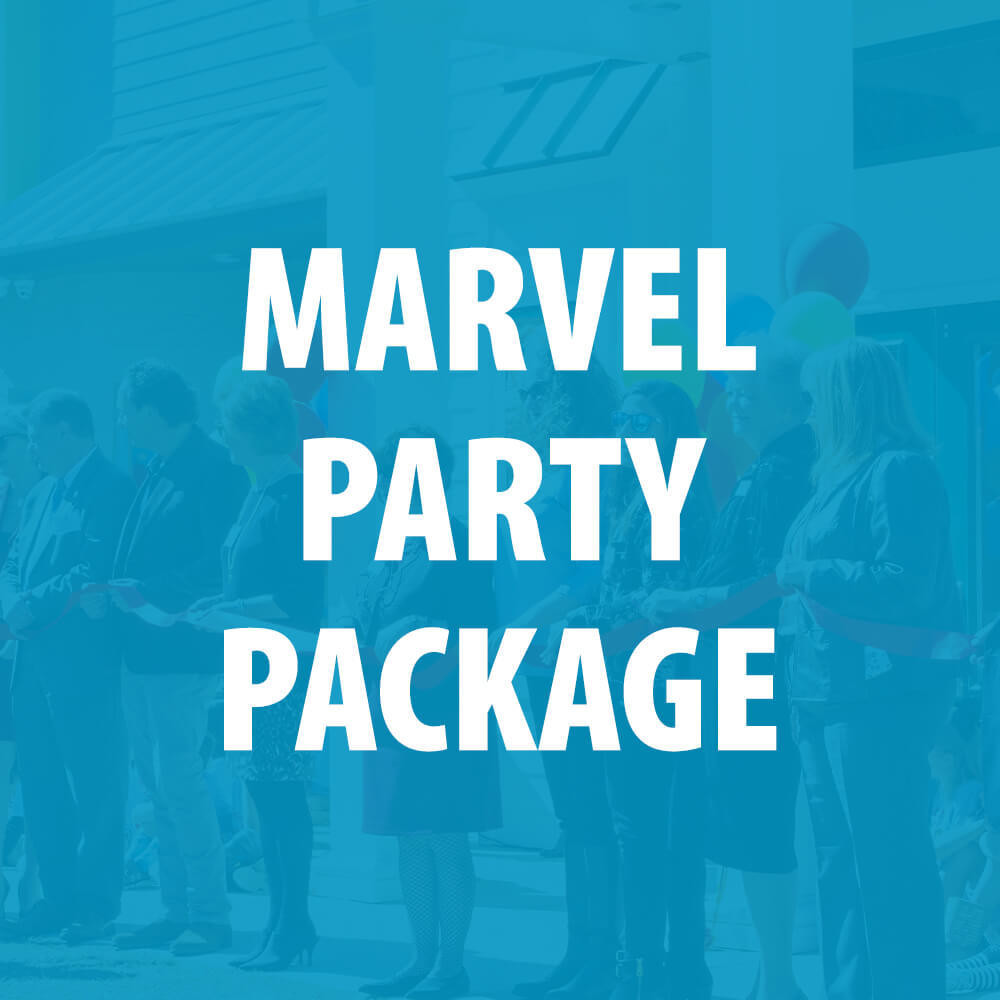 Marvel 2 Party Package