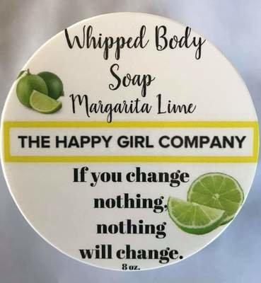 Margarita Lime Whipped Body Soap